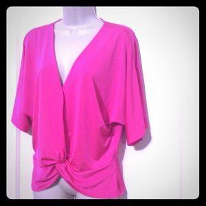 Nwot Pink Express Blouse